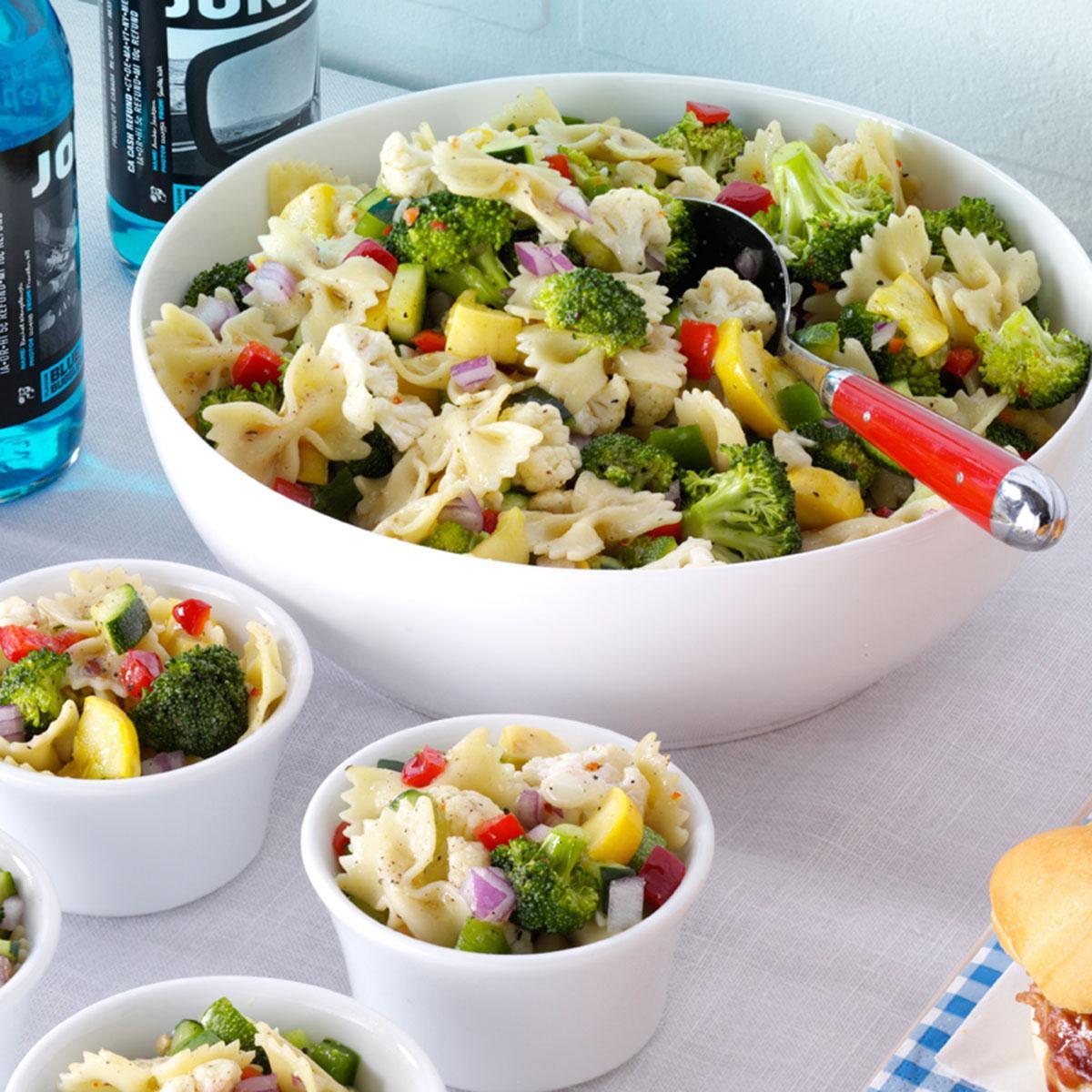 Bowtie Pasta Salad  Garden Bow Tie Salad Recipe