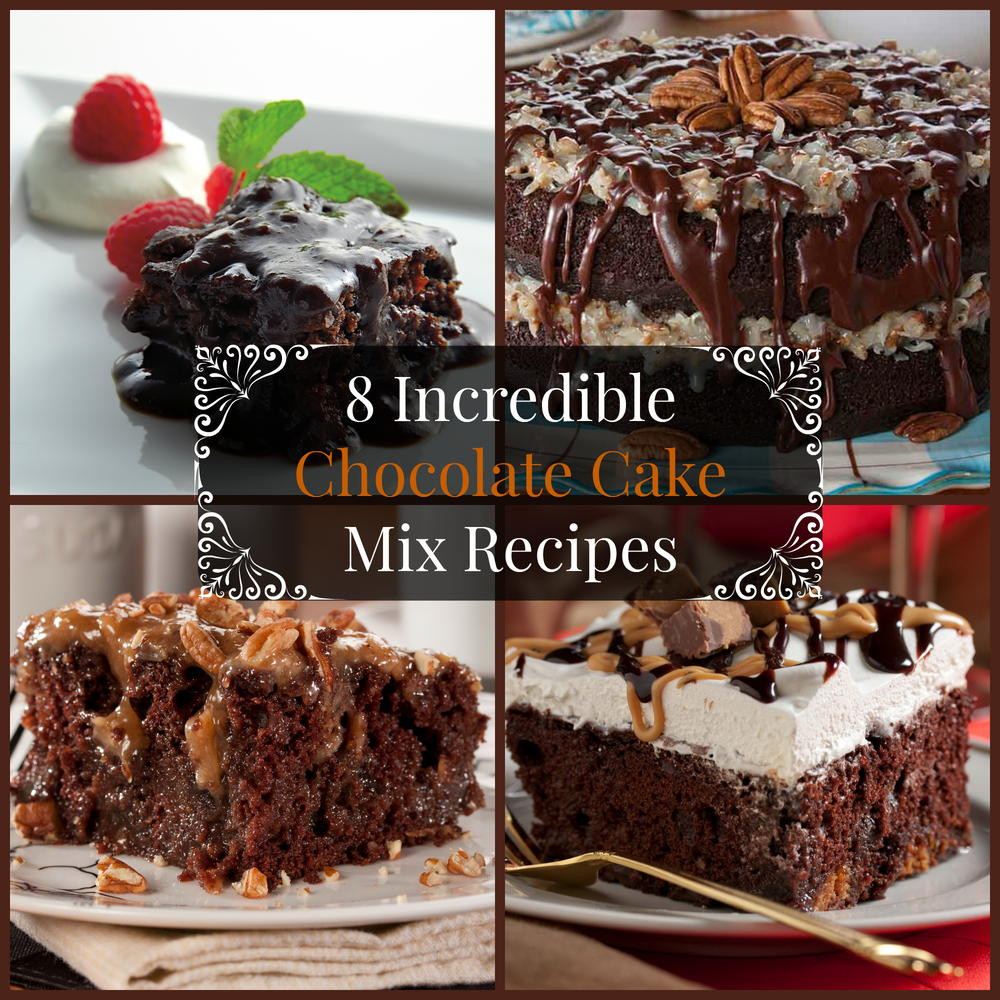 Box Chocolate Cake Mix Recipes  8 Incredible Chocolate Cake Mix Recipes
