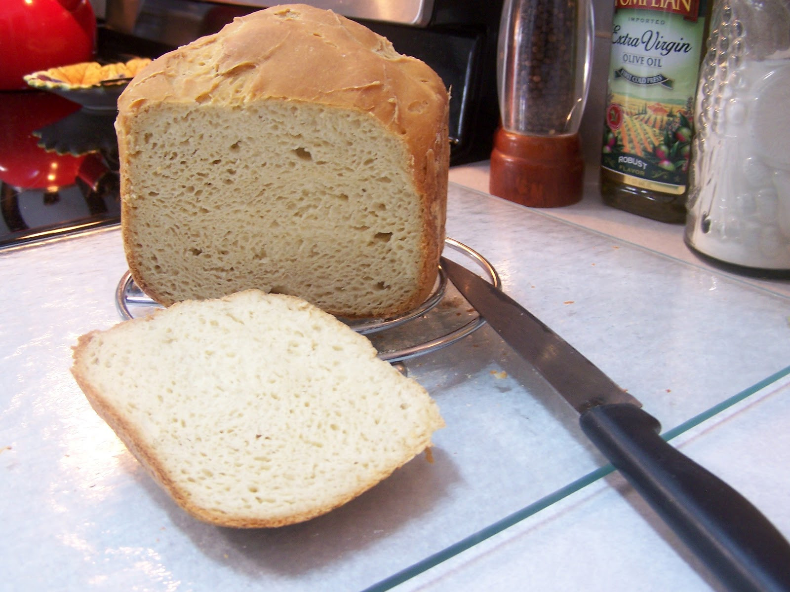 Bread Machine Bread Recipe  Spectacular Gluten Free Bread in the Bread Machine