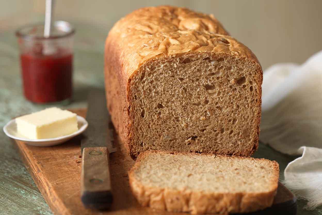 Bread Machine Bread Recipe  Whole Wheat Bread for the Bread Machine Recipe