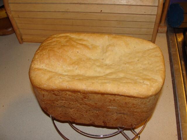 Bread Machine Bread Recipe  Bread Machine English Muffin Loaf Recipe from CDKitchen