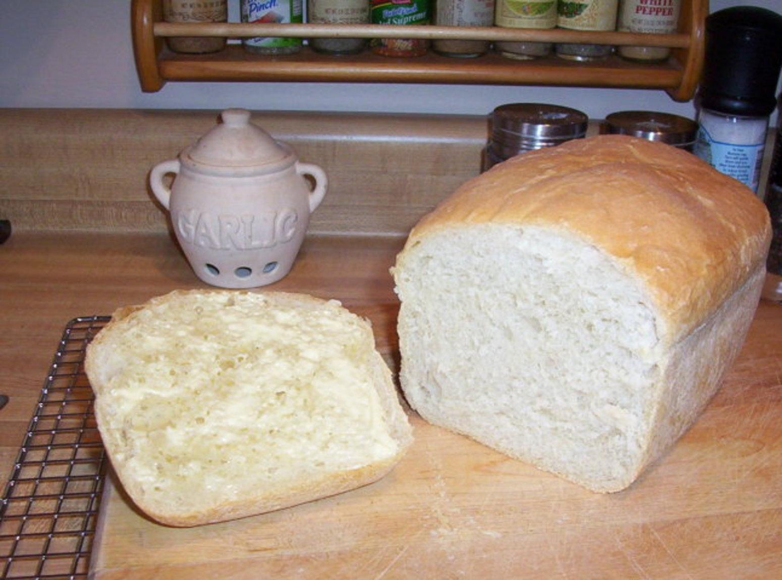 Bread Machine Bread Recipe  Bread Machine White Bread Recipe