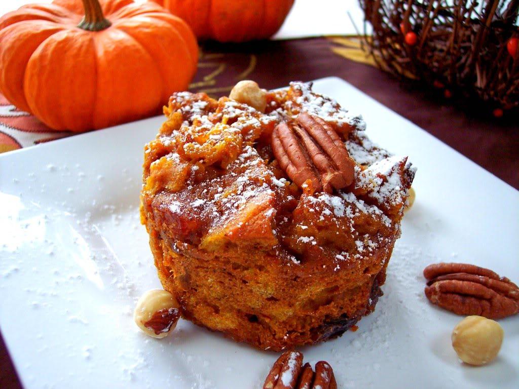 Bread Pudding Dessert  Pumpkin Bread Pudding Proud Italian Cook