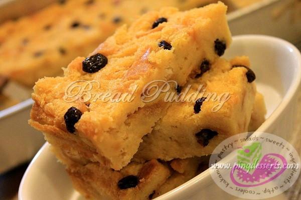 Bread Pudding Dessert  Bread Pudding Recipe