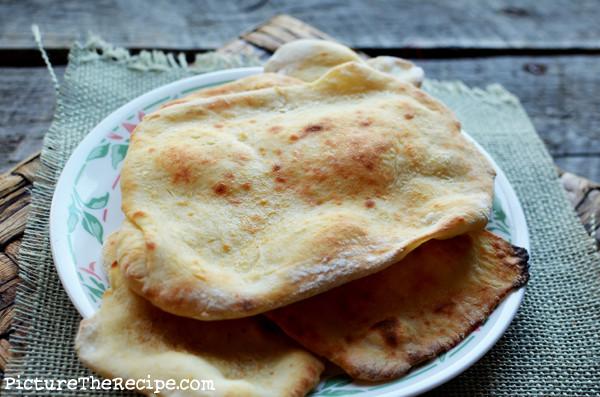 Bread Recipe No Yeast  easy pita bread recipe no yeast