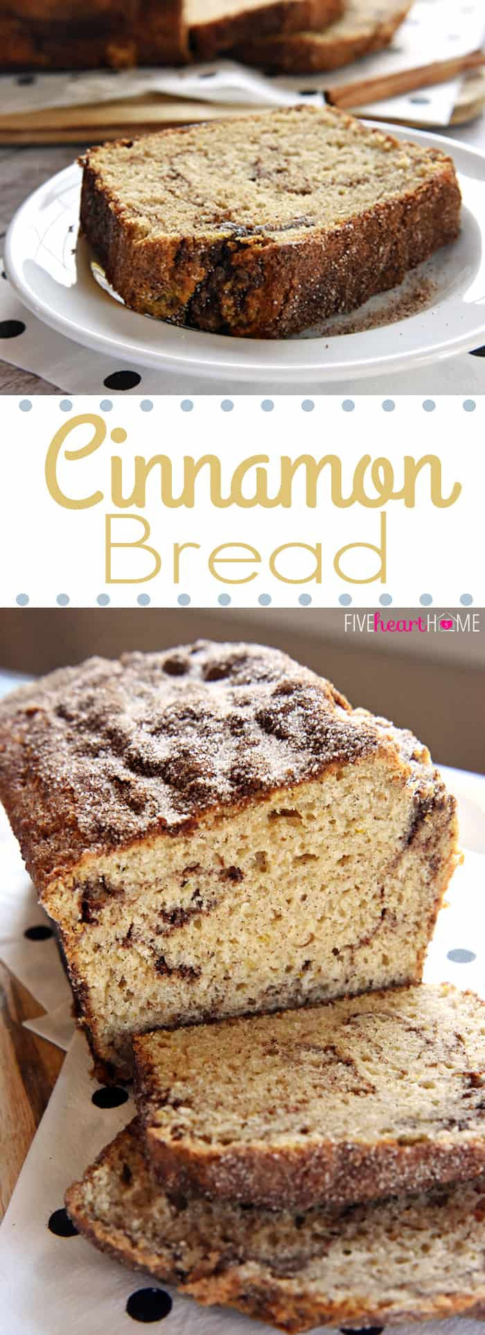 Bread Recipe No Yeast  Cinnamon Bread No Yeast Quick Bread