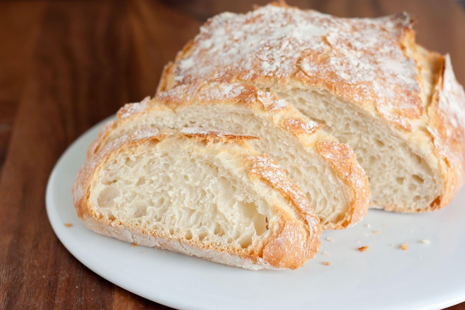Bread Recipe No Yeast  Crusty Rustic Bread It s No Knead  Cooking Classy