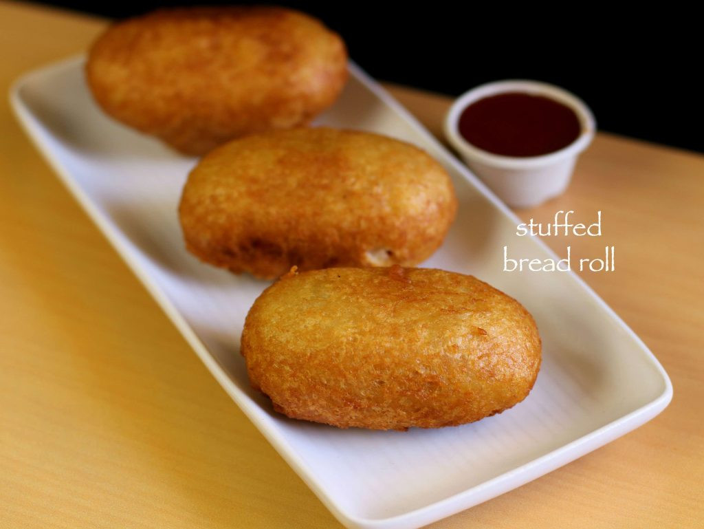 Bread Roll Recipe  bread roll recipe stuffed potato bread roll