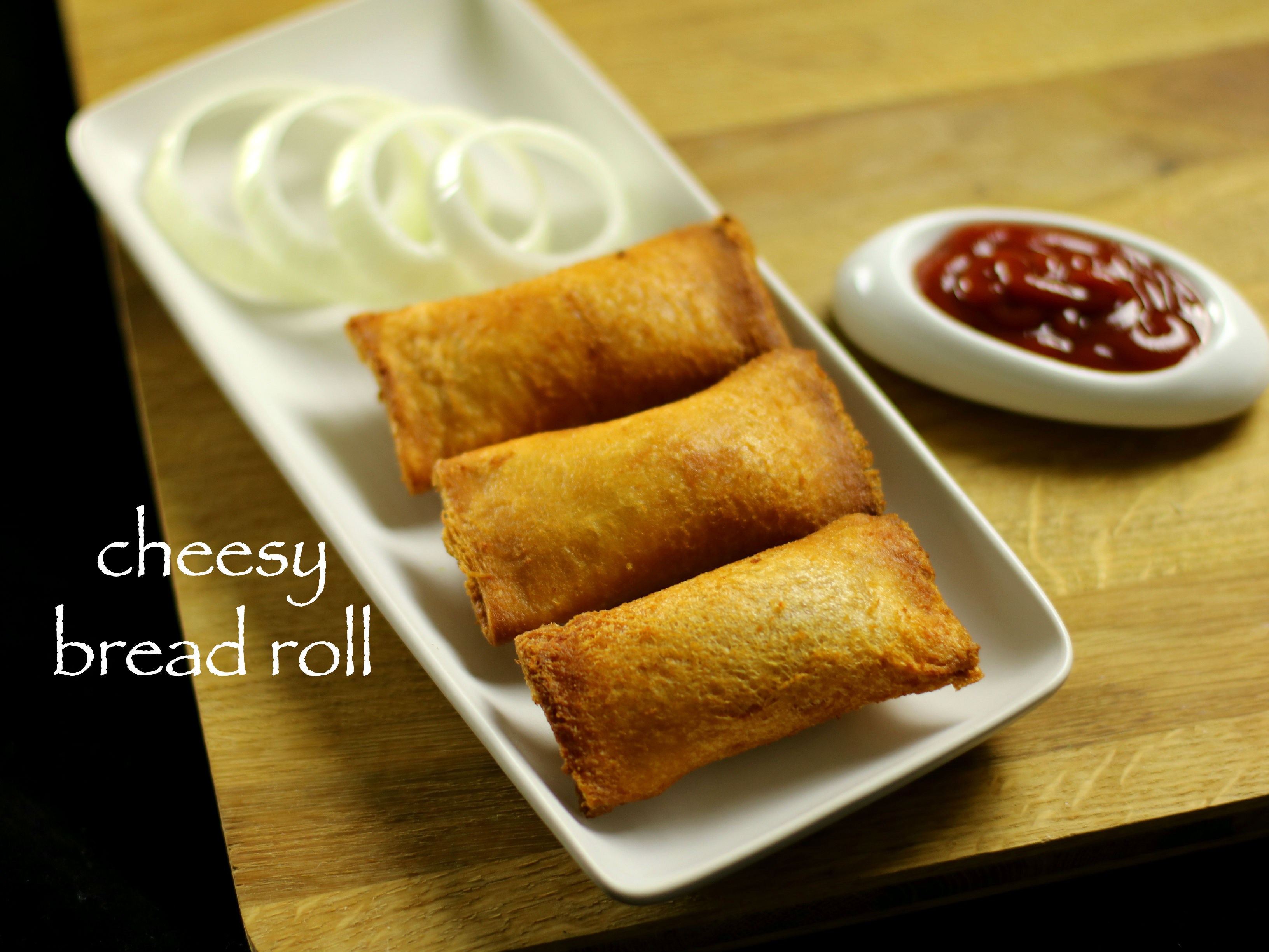 Bread Roll Recipe  cheesy bread roll recipe