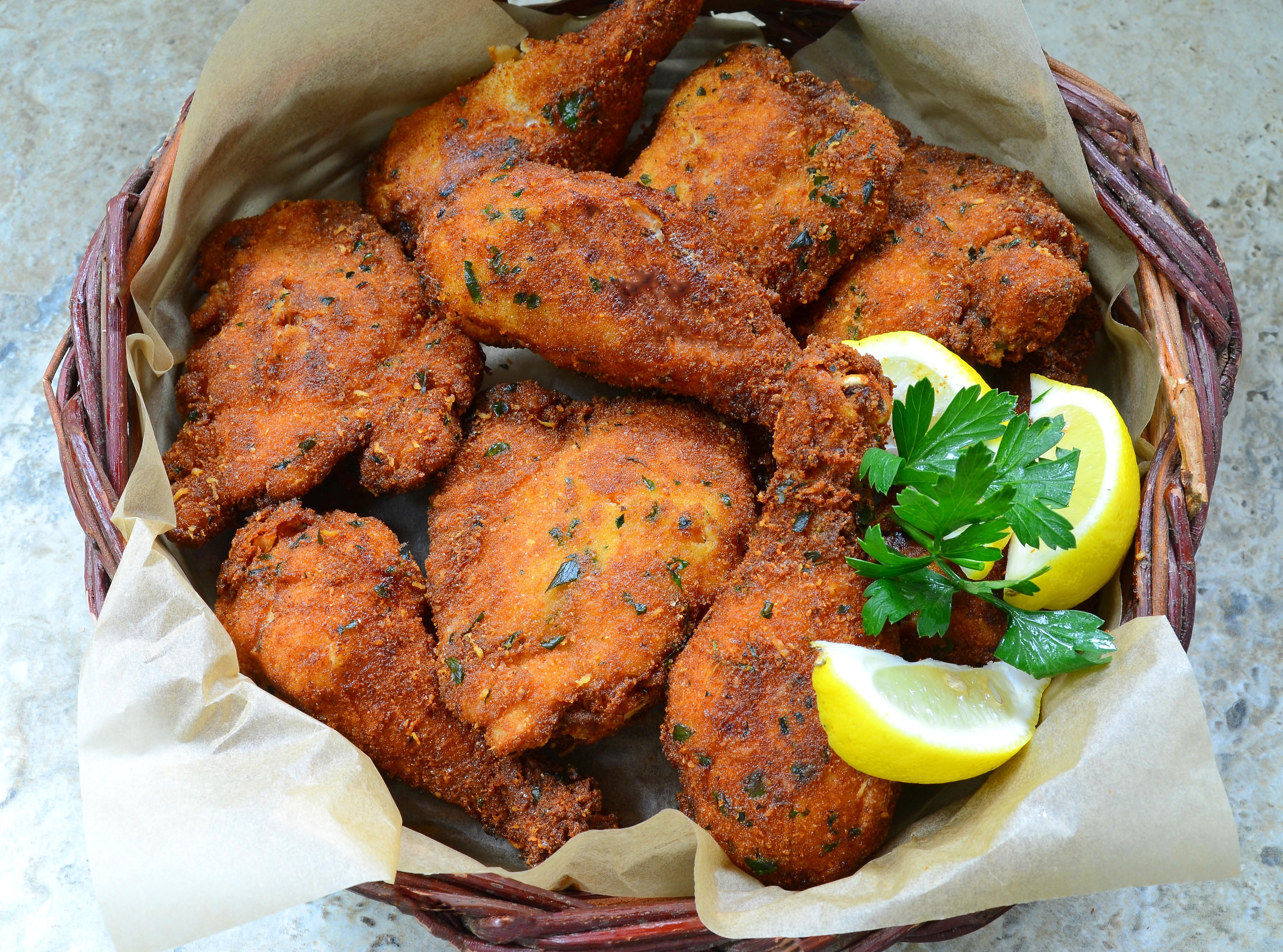 Breaded Fried Chicken  Maria s Sicilian Style Breaded Fried Chicken