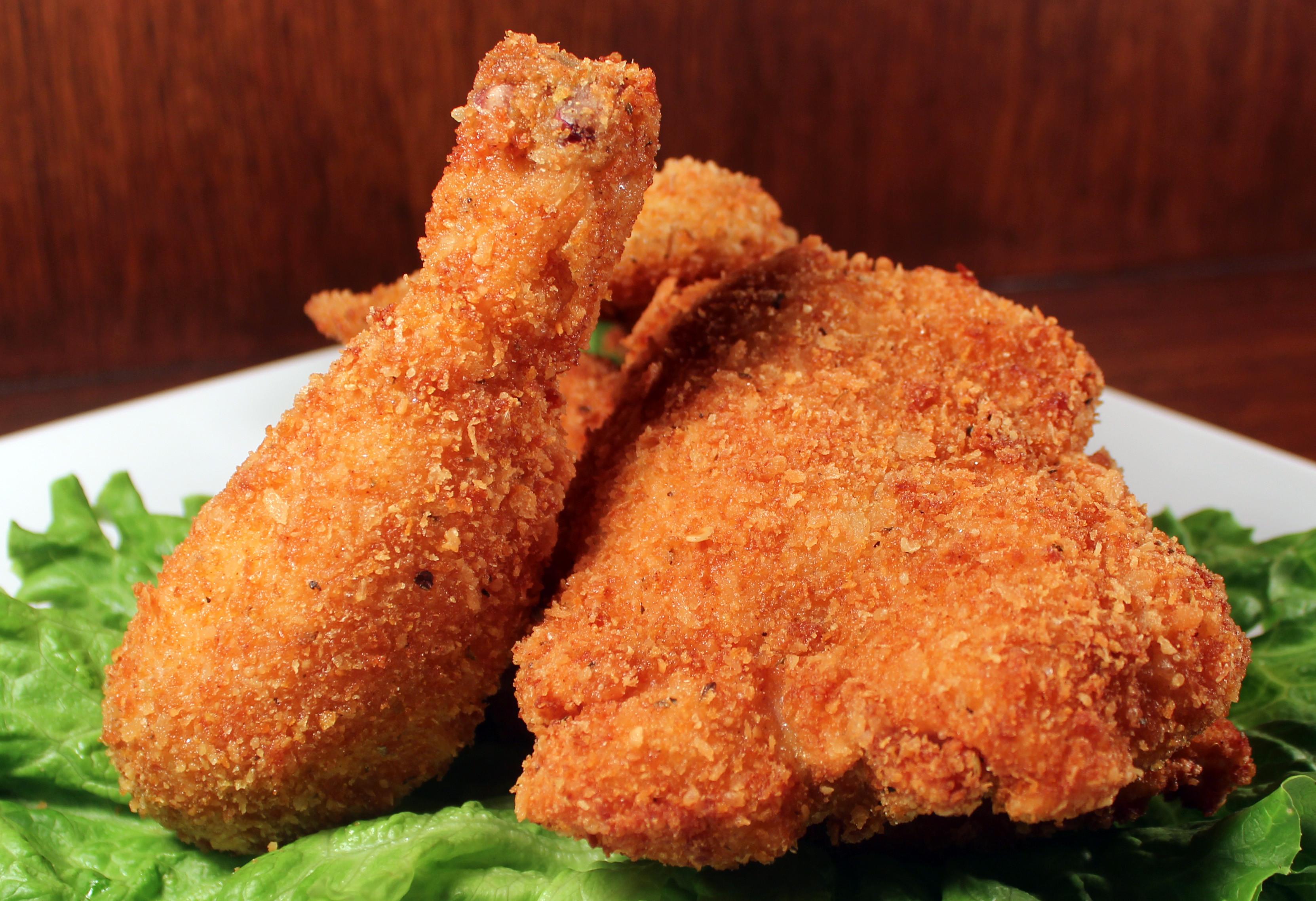 Breaded Fried Chicken  Pan Fried Chicken