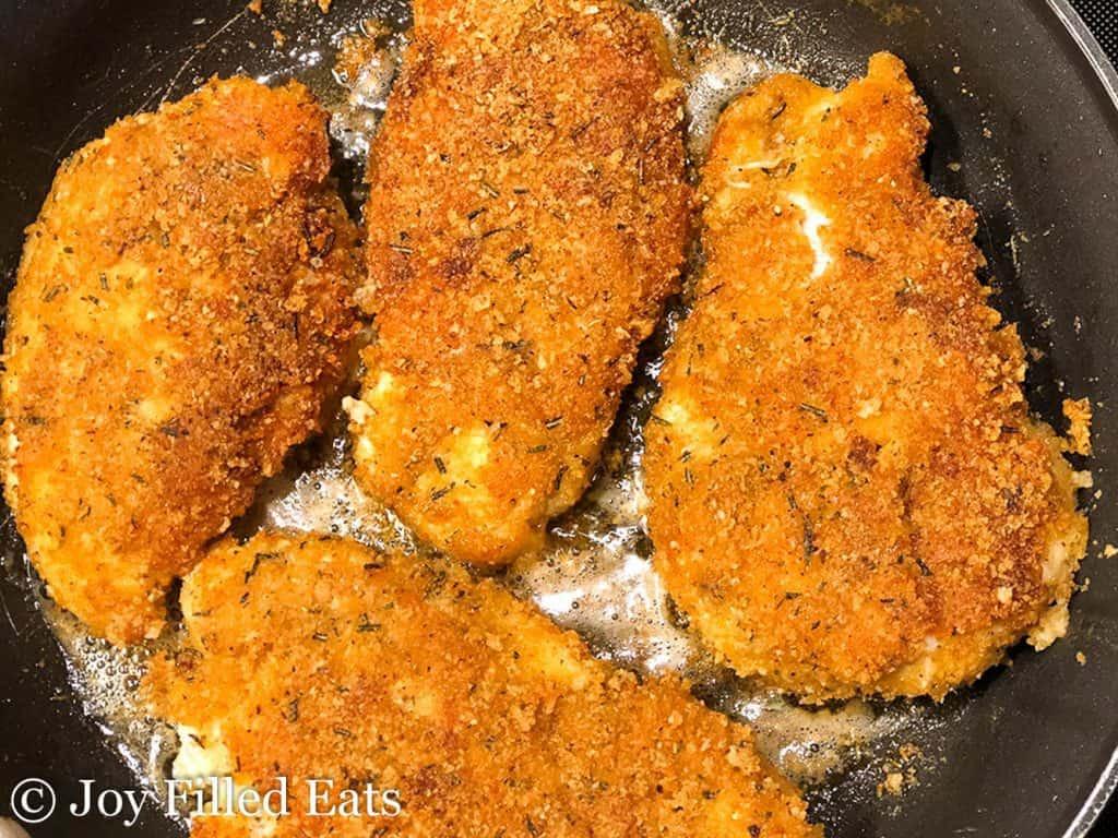 Breaded Fried Chicken  Breaded Chicken Breast Low Carb Gluten Free Keto THM Joy