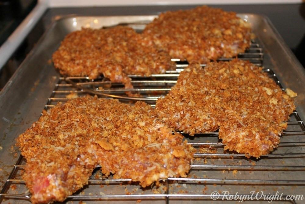 Breaded Pork Chops  Extra Crunchy Breaded Pork Chops Recipe – Robyns World