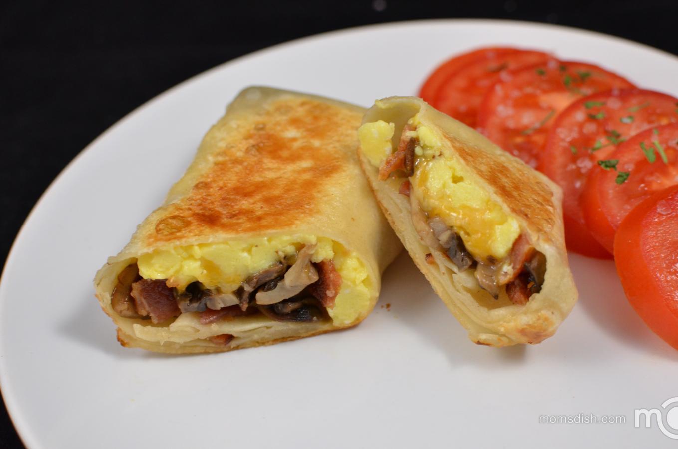Breakfast Burrito Recipe Easy  Breakfast Burrito