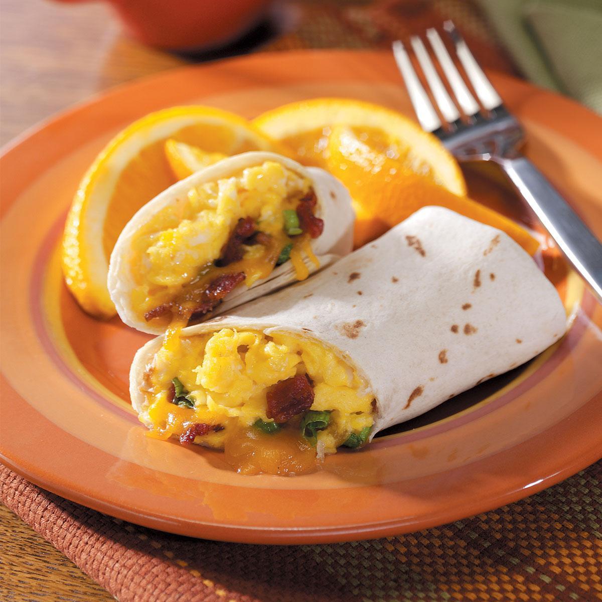 Breakfast Burrito Recipe Easy  Egg Burritos Recipe