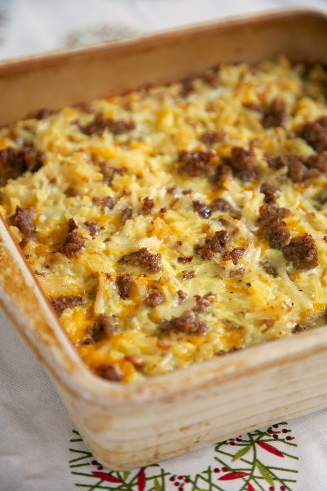 Breakfast Casseroles With Sausage  breakfast sausage egg casserole without bread