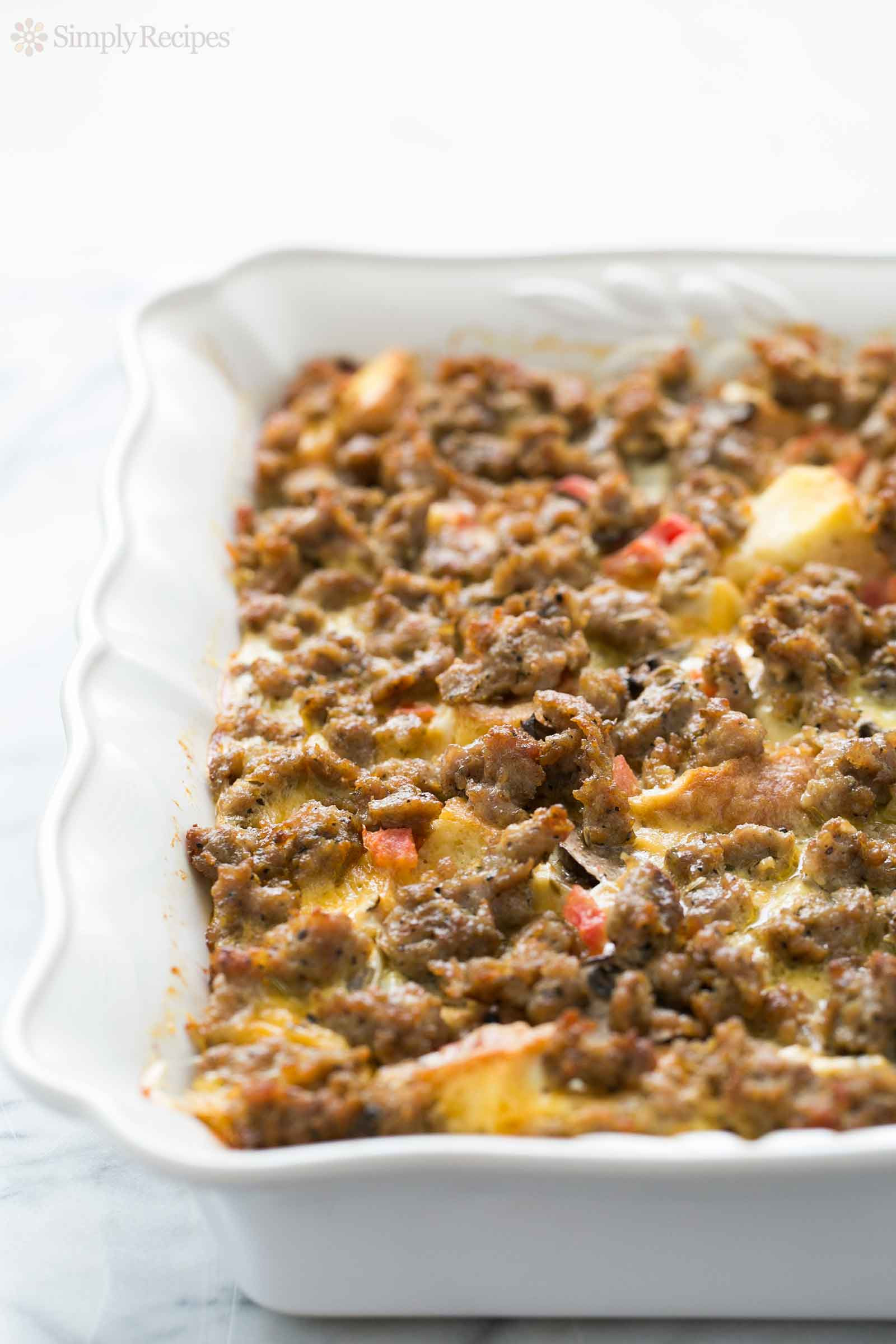 Breakfast Casseroles With Sausage  Sausage Breakfast Casserole Recipe