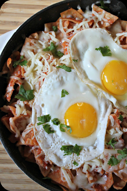 Breakfast Chilaquiles Recipe  Chilaquiles The Best fort Food The Denver Housewife