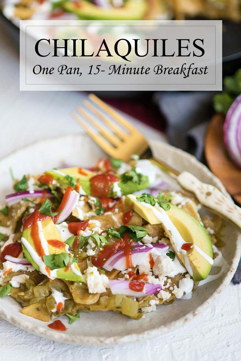 Breakfast Chilaquiles Recipe  How to Make Chilaquiles Verdes e Pan Recipe A Side
