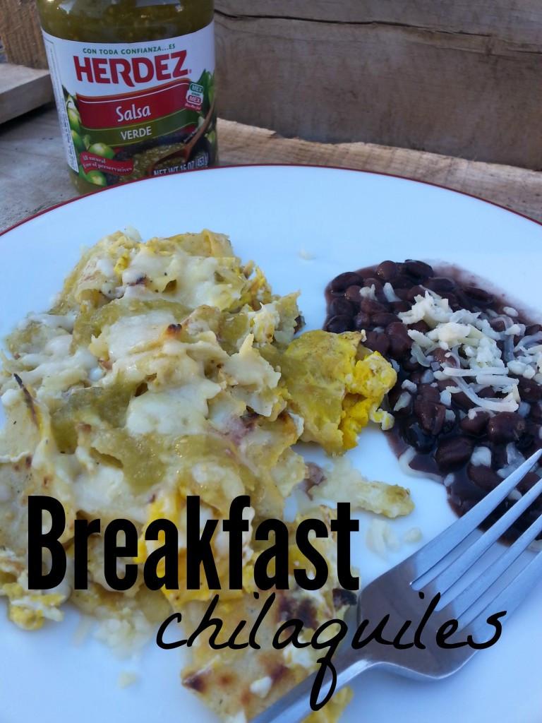 Breakfast Chilaquiles Recipe  Celebrate Las Posadas with Breakfast Chilaquiles and