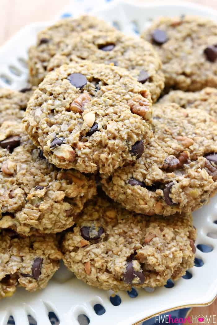 Breakfast Cookies Recipe  oatmeal raisin breakfast cookies