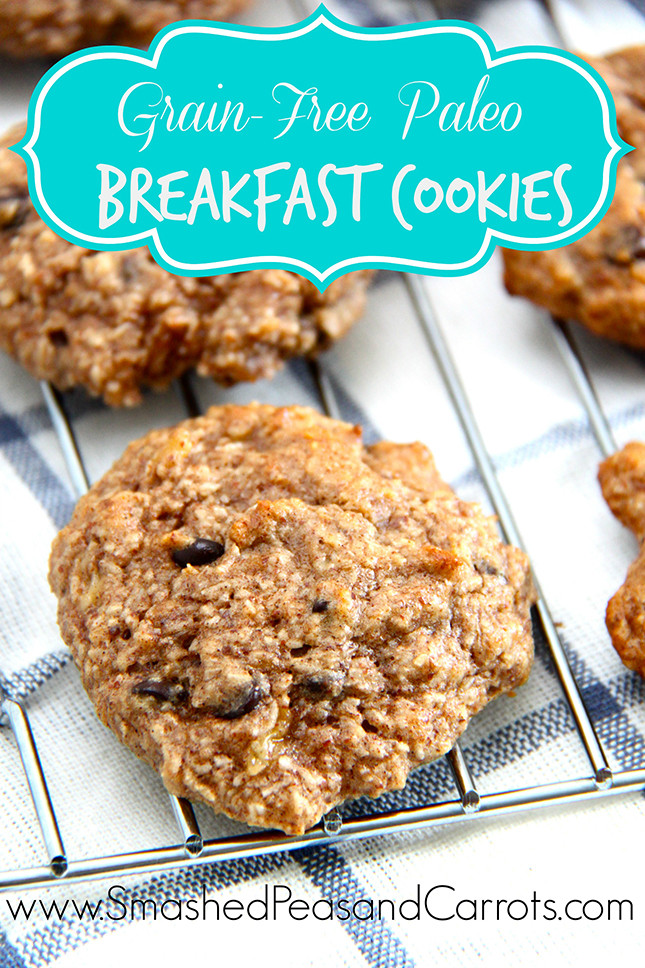 Breakfast Cookies Recipe  Grain Free Paleo Breakfast Cookie Recipe Smashed Peas