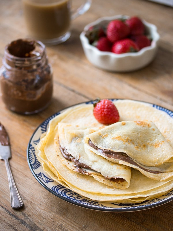 Breakfast Crepe Recipe  Crepes