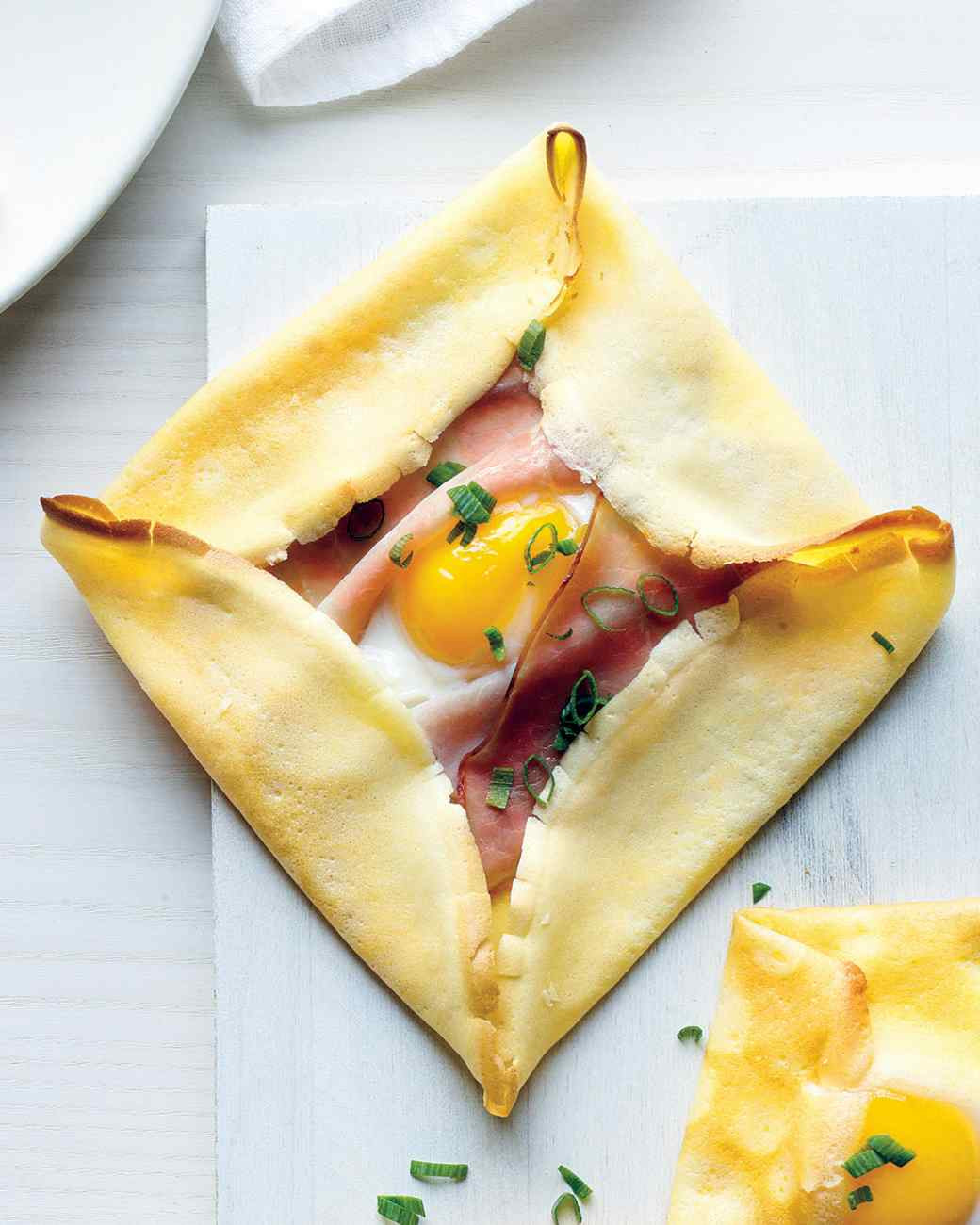 Breakfast Crepe Recipe  Ham Egg Crepe