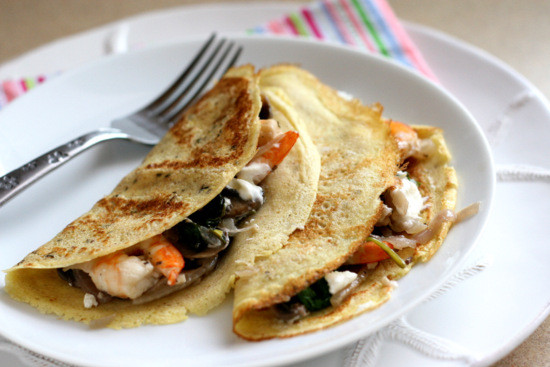 Breakfast Crepe Recipe  savory breakfast crepes