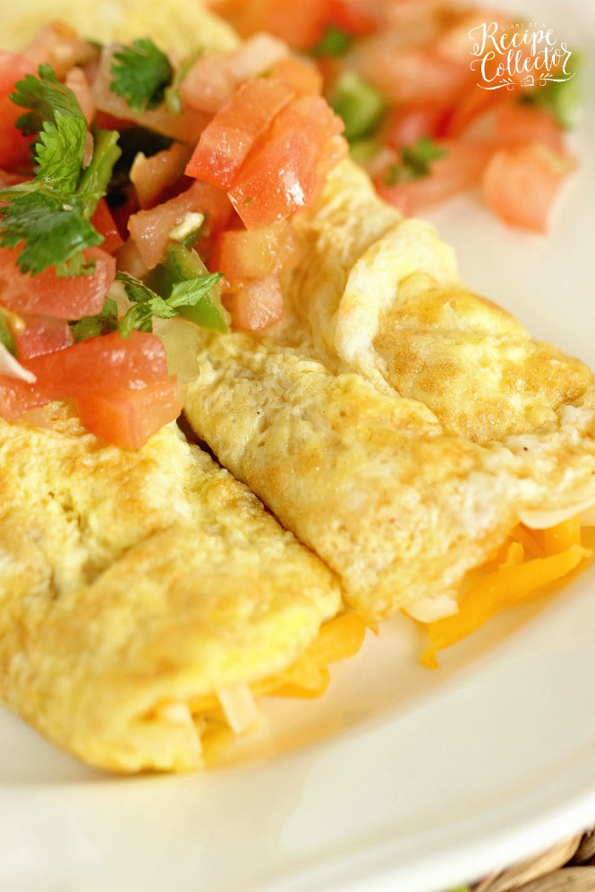 Breakfast Crepe Recipe  Egg Crepes Diary of A Recipe Collector