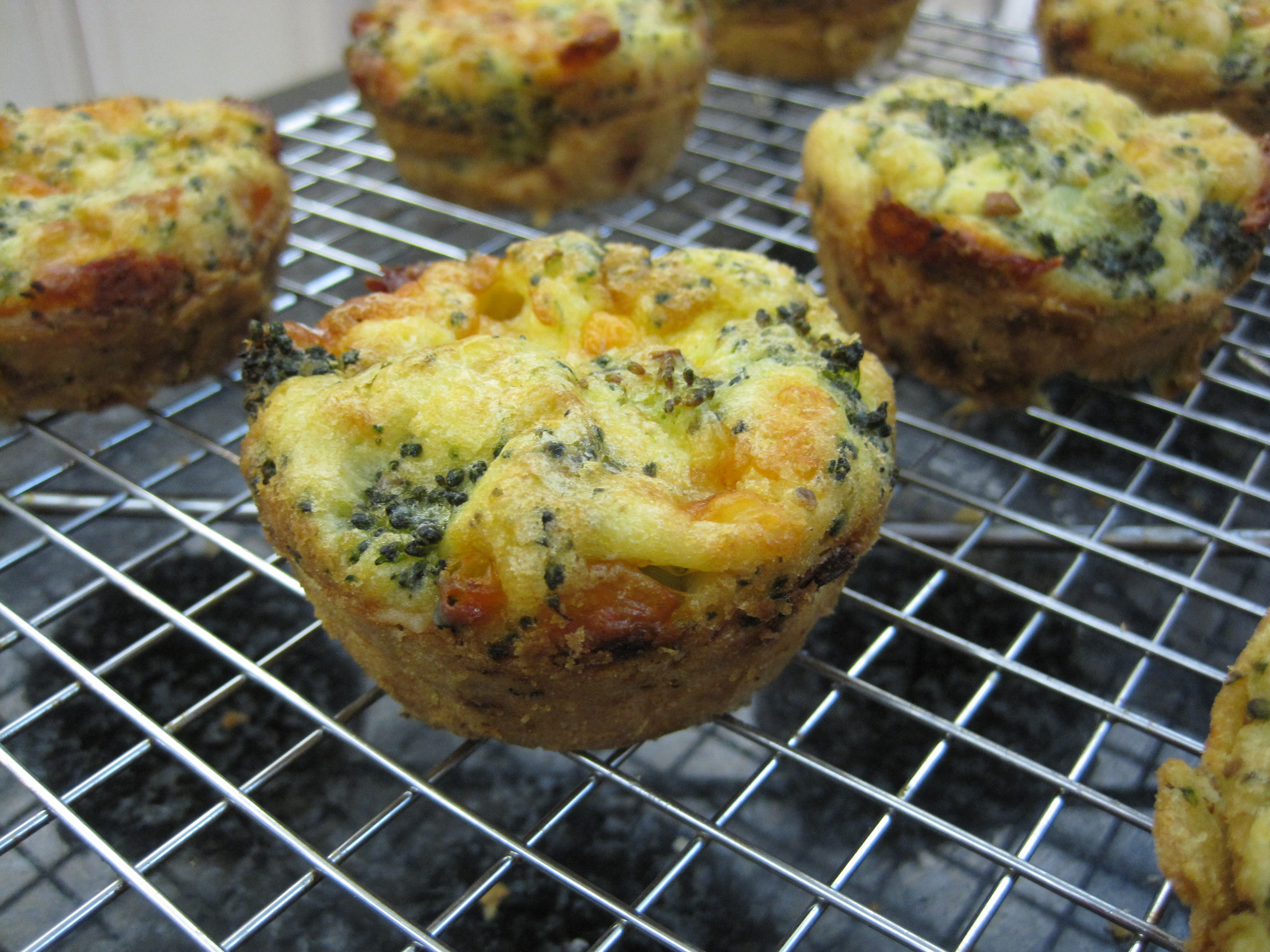 Breakfast Muffins Recipe  Broccoli Egg and Cheese Breakfast Muffins with a gluten