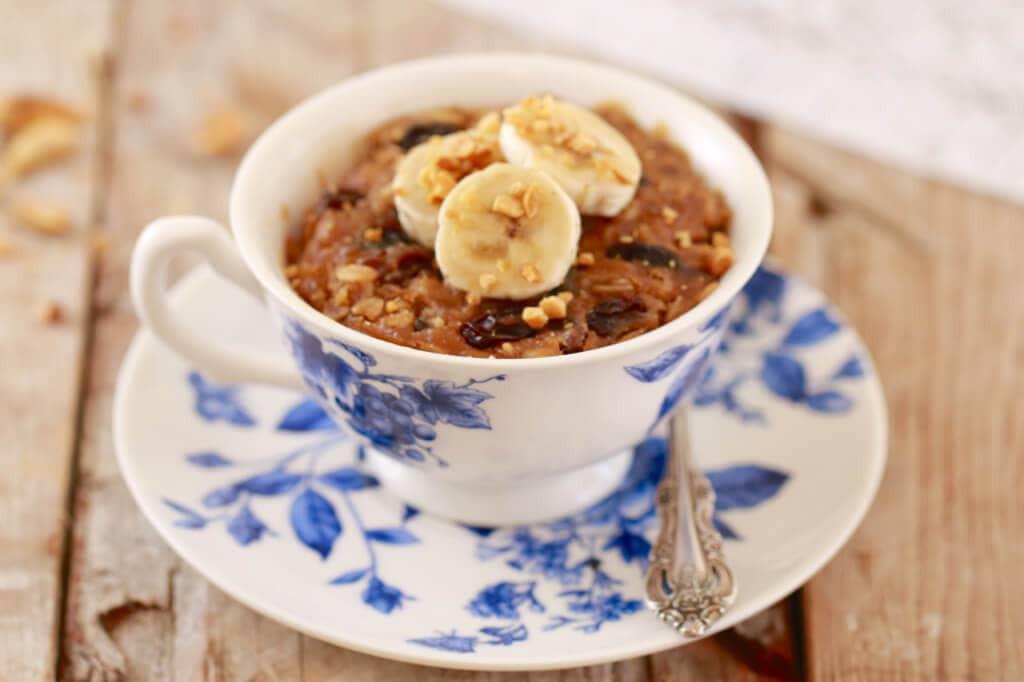 Breakfast Mug Recipes  Microwave Breakfast Cookie in a Mug Microwave Mug Meals