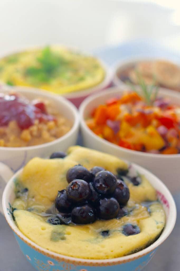Breakfast Mug Recipes  Top 5 Microwave Mug Breakfasts Sweet & Savory Recipes