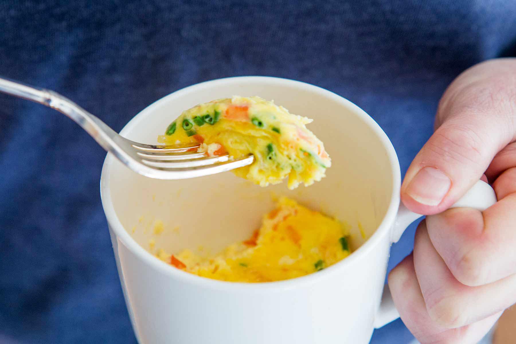 Breakfast Mug Recipes  Omelette in a Mug Recipe