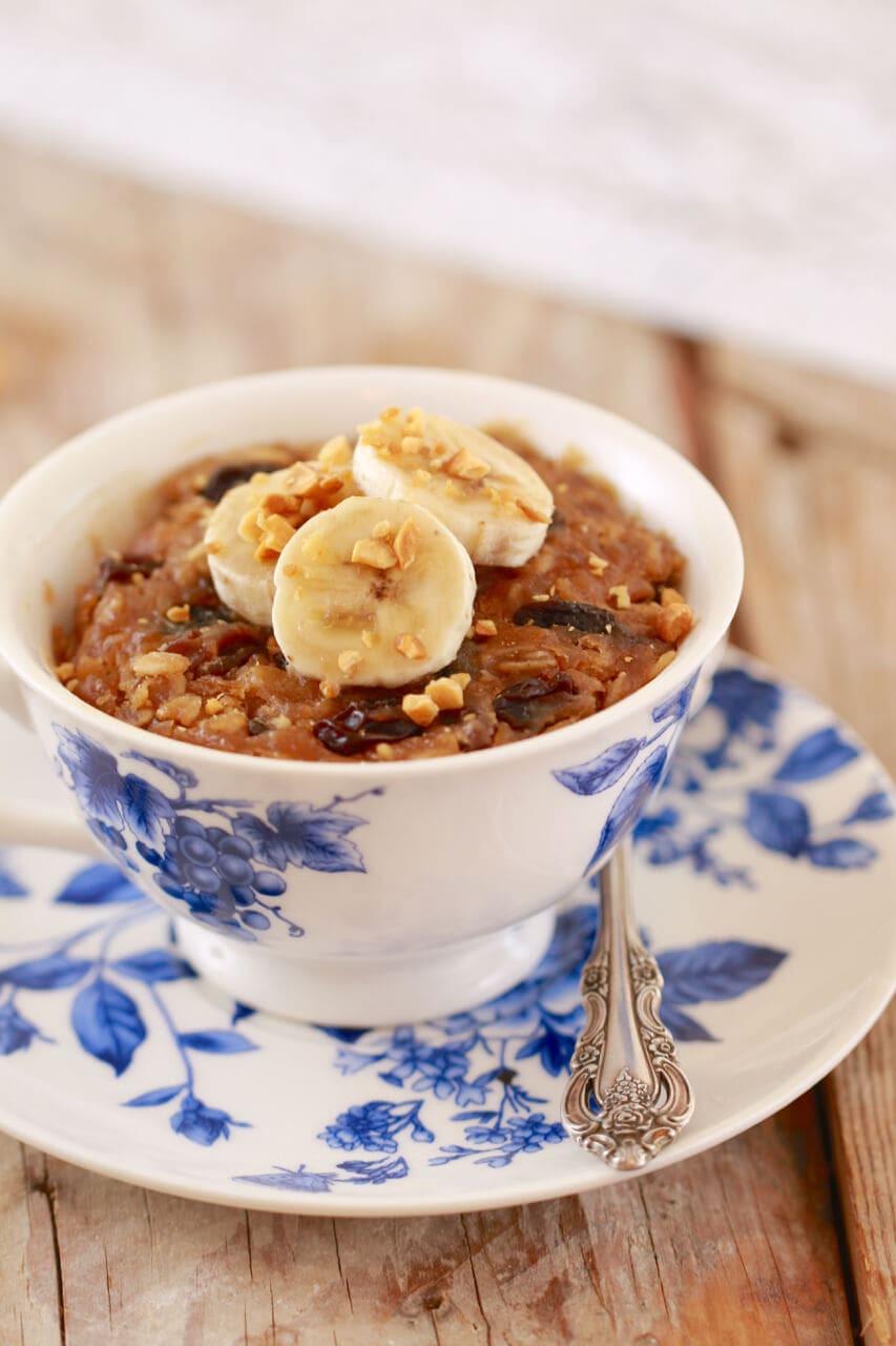 Breakfast Mug Recipes  Microwave Breakfast Cookie in a Mug Gemma's Bigger