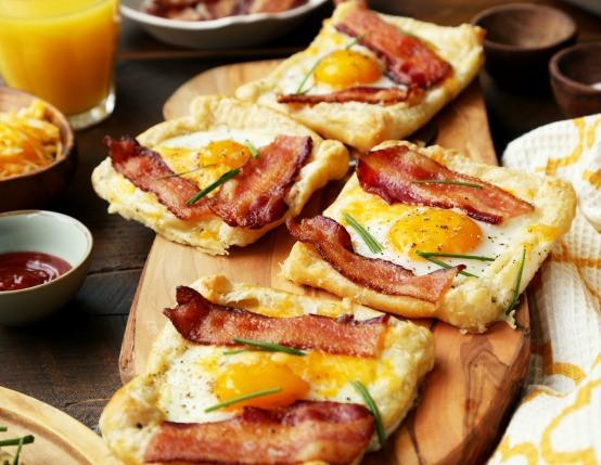 Breakfast Pastries Recipes  breakfast tart puff pastry