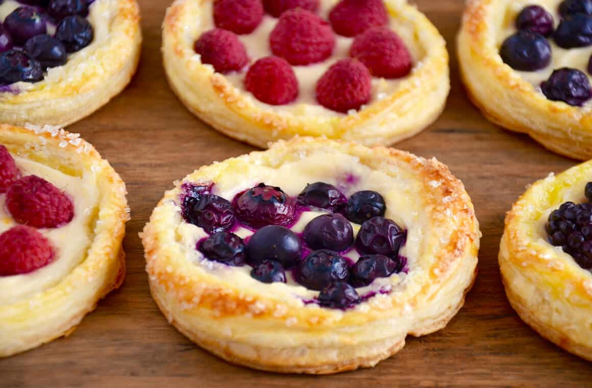 Breakfast Pastries Recipes  Fruit and Cream Cheese Breakfast Pastries