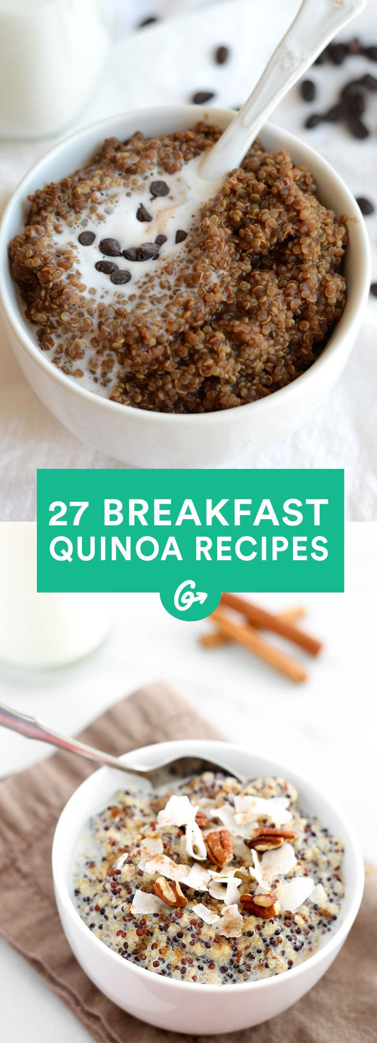 Breakfast Quinoa Recipes  27 Breakfast Quinoa Recipes That'll Make You For All