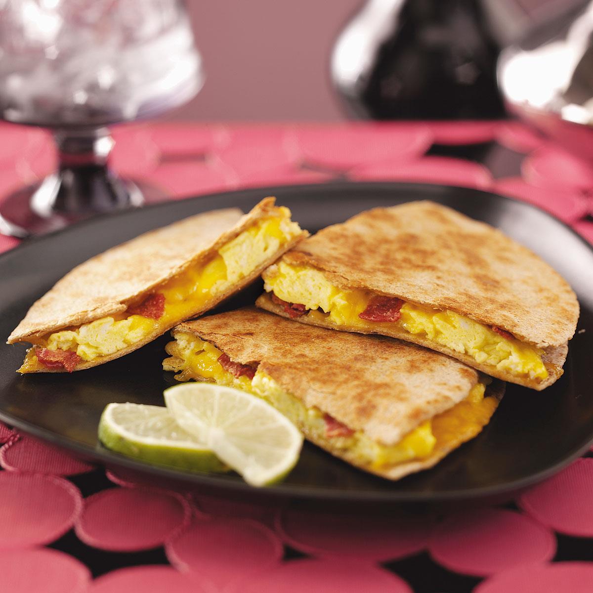 Breakfast Recipe Ideas  Easy Breakfast Quesadillas Recipe