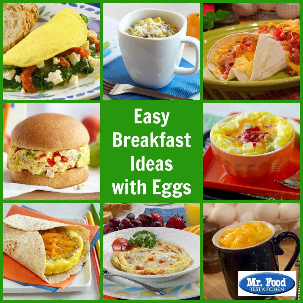 Breakfast Recipe Ideas  Easy Breakfast Ideas with Eggs