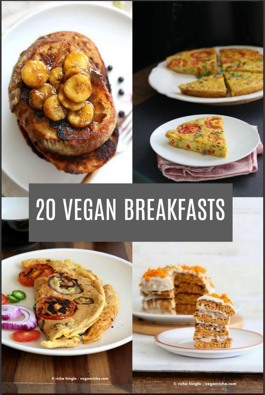 Breakfast Recipe Ideas  20 Vegan Breakfast Recipes Vegan Richa