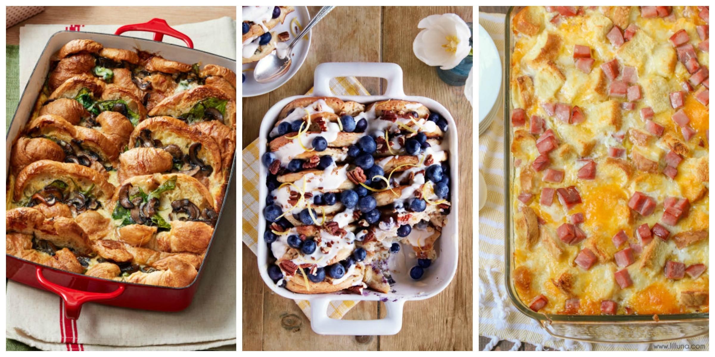 Breakfast Recipe Ideas  56 Easy Breakfast Casserole Recipes Best Make Ahead Egg