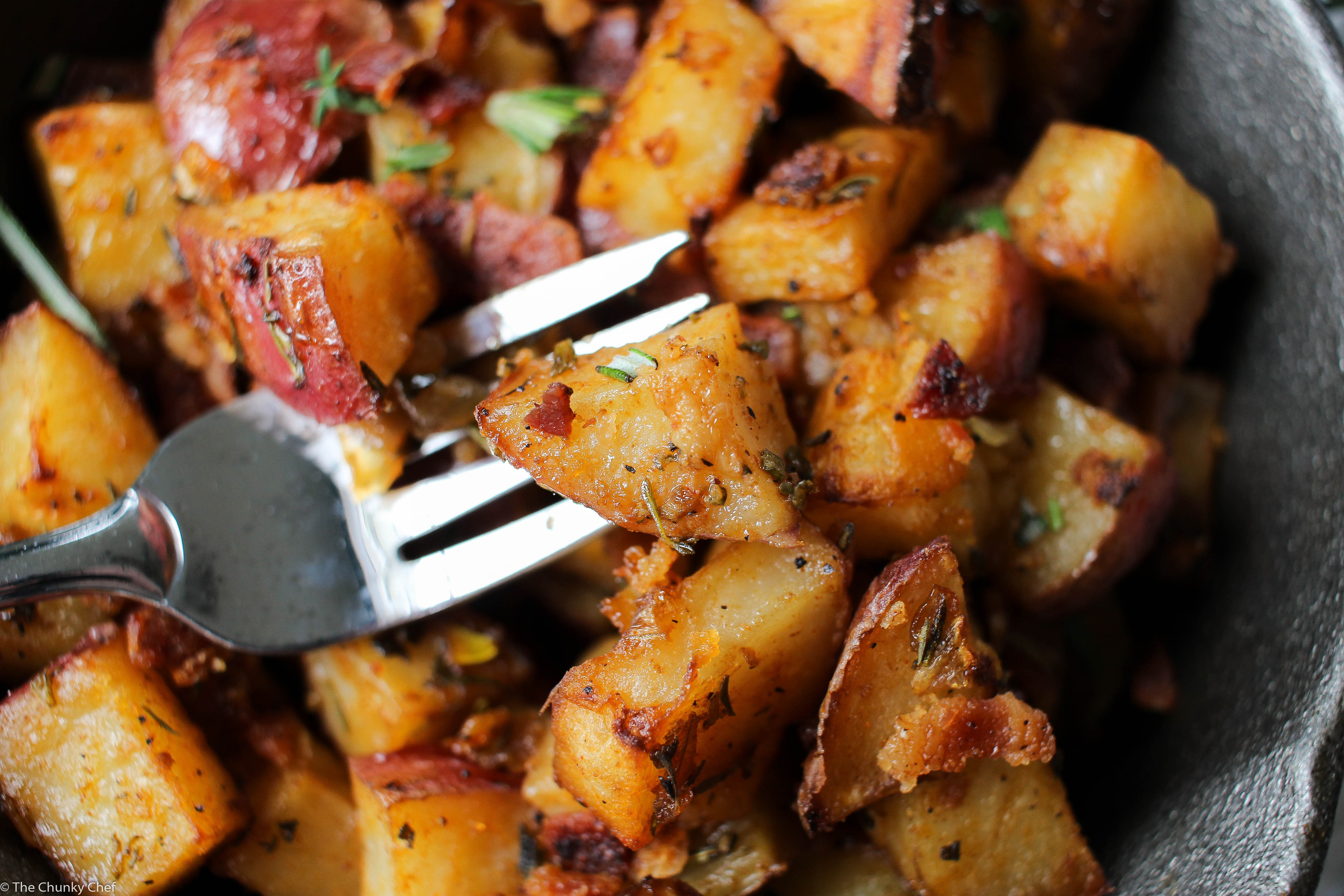 Breakfast Red Potatoes  Oven Roasted Breakfast Potatoes The Chunky Chef