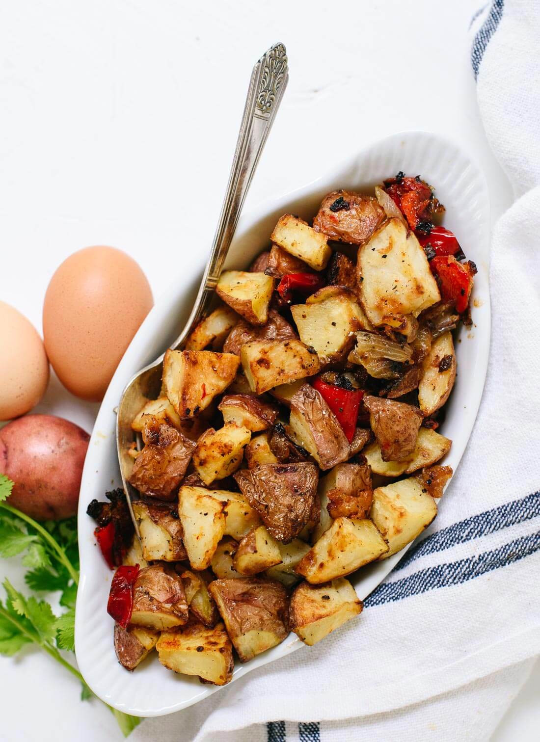 Breakfast Red Potatoes  Roasted Breakfast Potatoes Home Fries Cookie and Kate