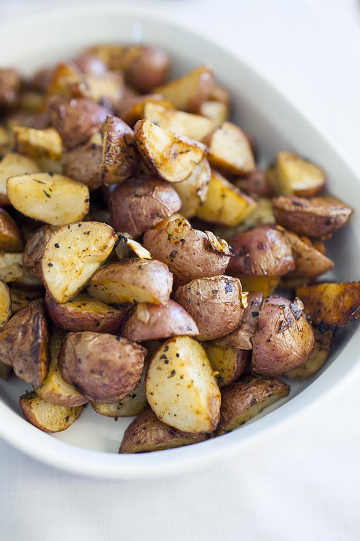 Breakfast Red Potatoes  Roasted Bacon Breakfast Potatoes