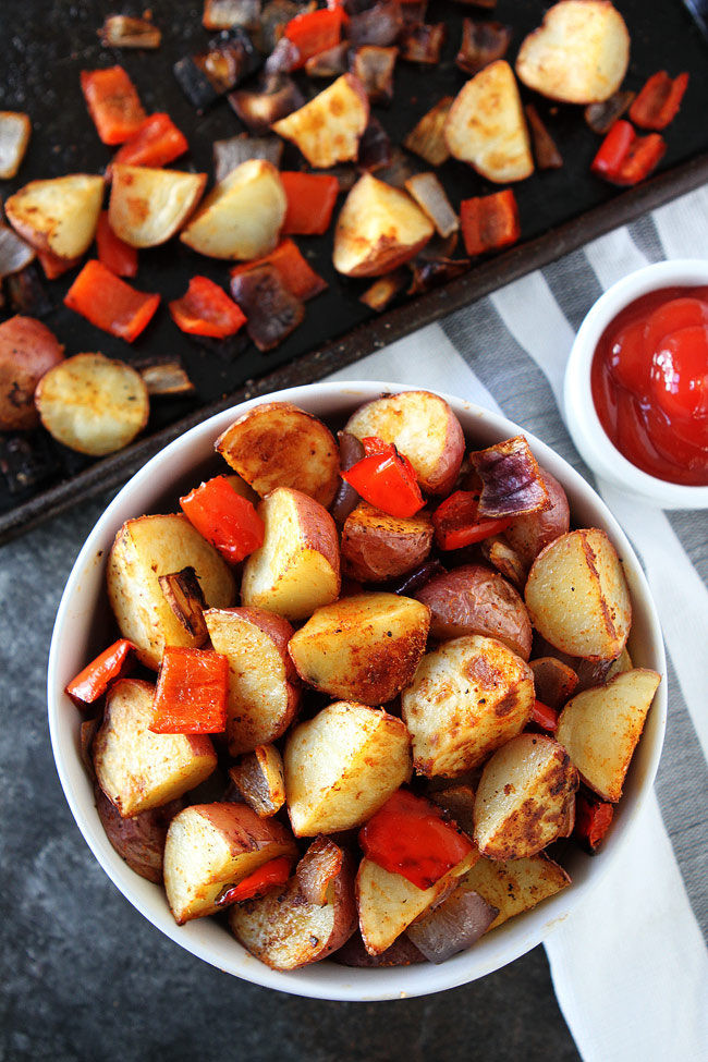 Breakfast Red Potatoes  Roasted Breakfast Potatoes So Easy