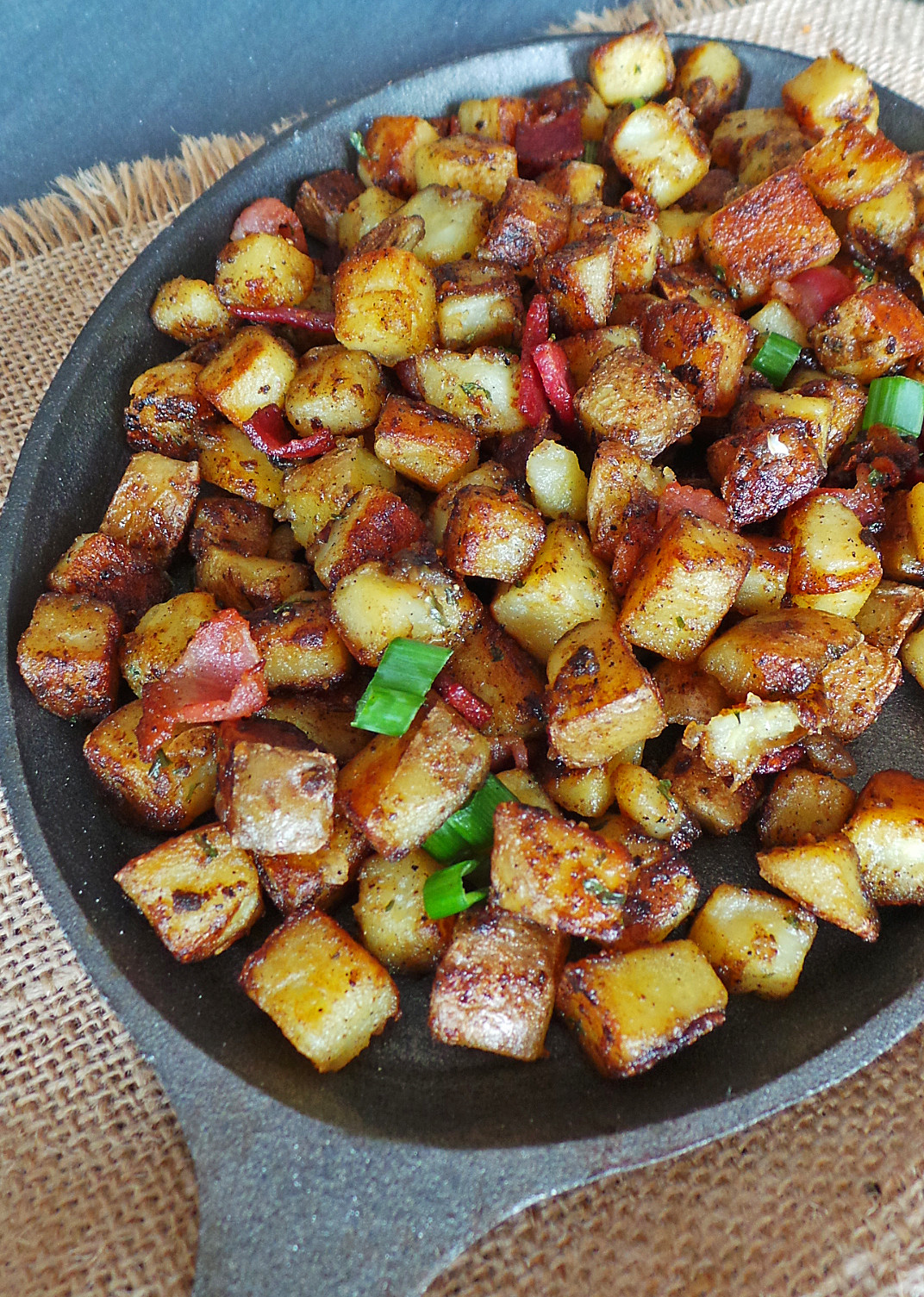 Breakfast Red Potatoes  home fries red potatoes