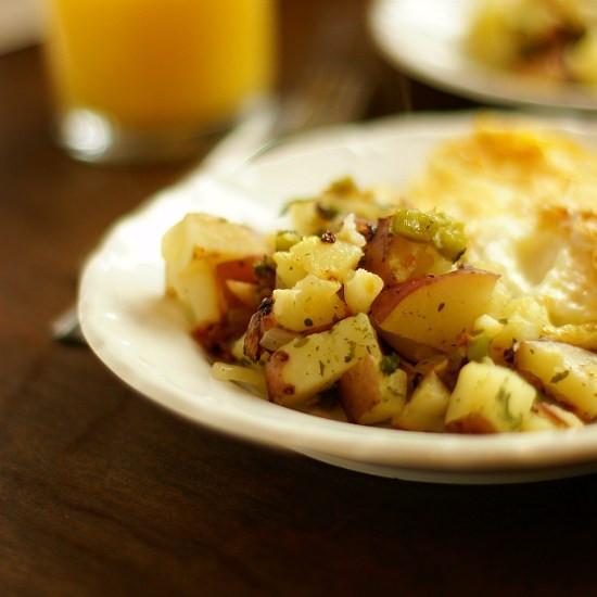 Breakfast Red Potatoes  Red Breakfast Potatoes Bread & With It