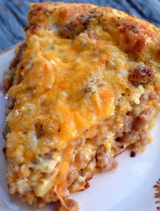 Breakfast Sausage Recipe  25 best ideas about Sausage Pie on Pinterest