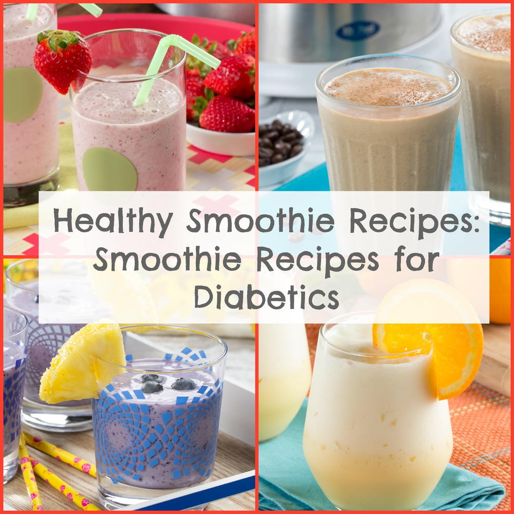 Breakfast Smoothies For Diabetics  breakfast smoothie recipes for diabetics